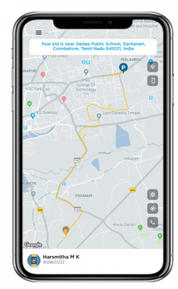 NEOTAG APP - Integrated with NeoTag Watch for personalized child tracking GPS system coupled with artificial intelligence